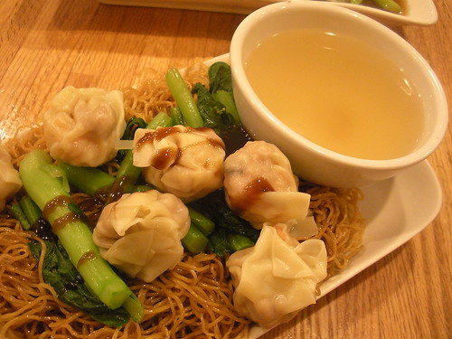 Shrimp stewed noodle