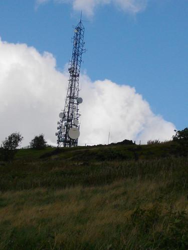 Stalybridge. The Tower of Power, on Harrop Edge.