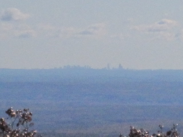 Boston from Mount Wachusett