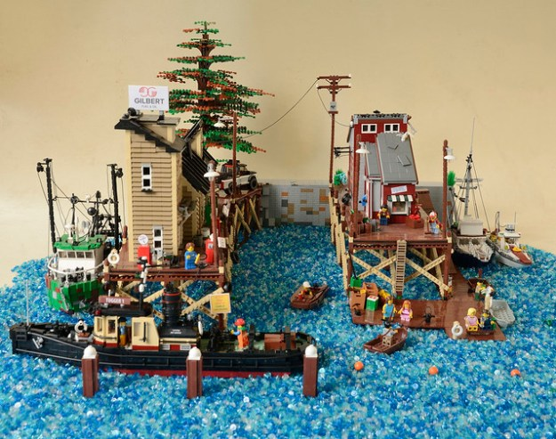 Brickton harbor is taking shape