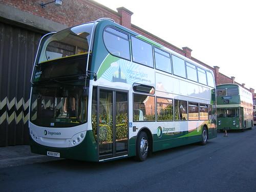 Stagecoach Manchester Enviro 400 Electric Hybrid, MX60 BVT
