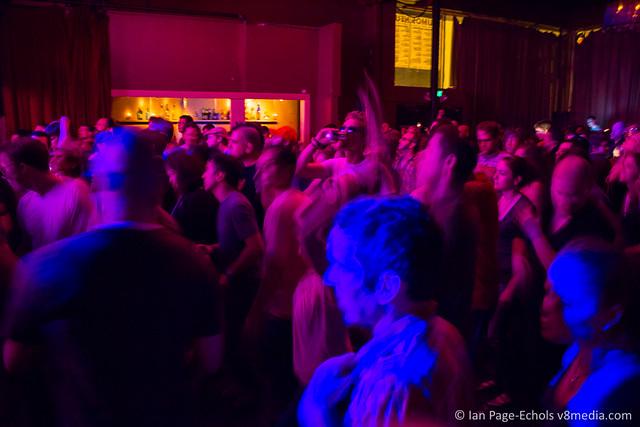 Kevin Saunderson crowd