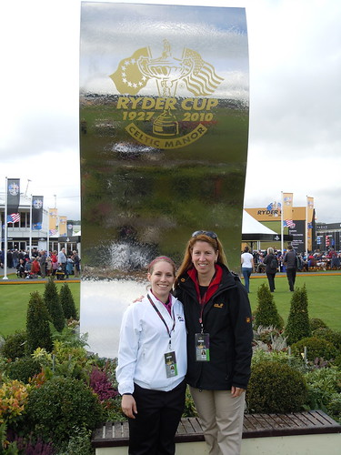 Lauren & me in the tented village