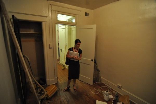 Pre-closing: small bedroom