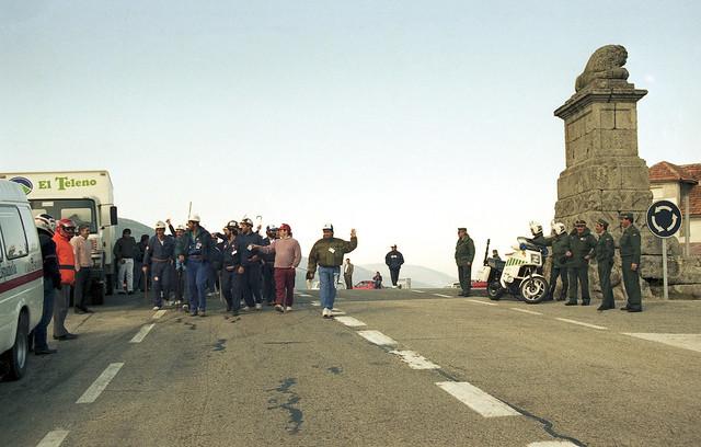 La Marcha Negra entra en la Comunidad de Madrid. © Pedro Luis Merino