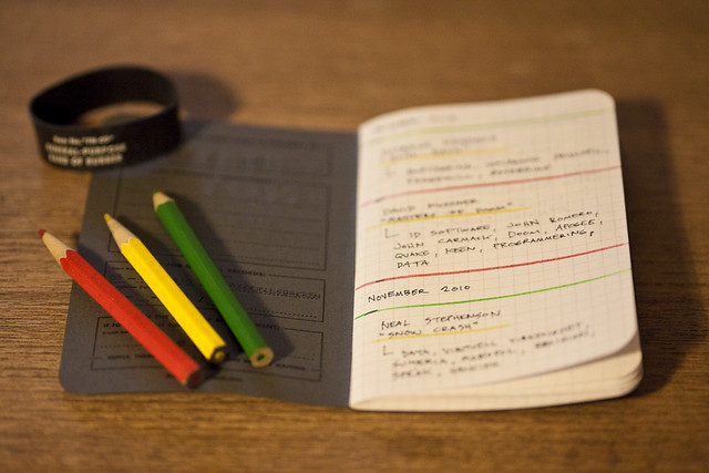 Photo:Field Notes - books read By:AndarsKI