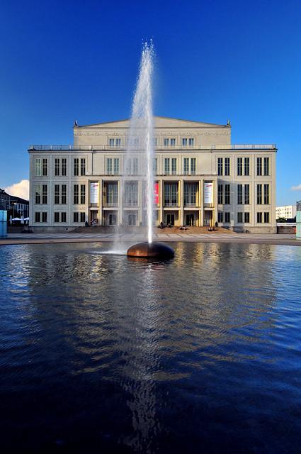 The Leipzig Opera House