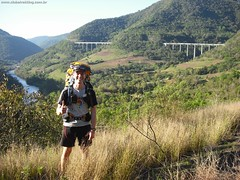140ª Trilha: Travessia da Ferrovia do Trigo – Muçum a Guaporé RS – 18, 19 e 20/09/2010. por Clube Trekking Santa Maria RS2010