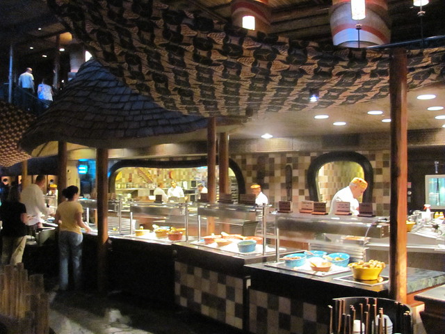 Boma at Jambo House at Animal Kingdom Lodge