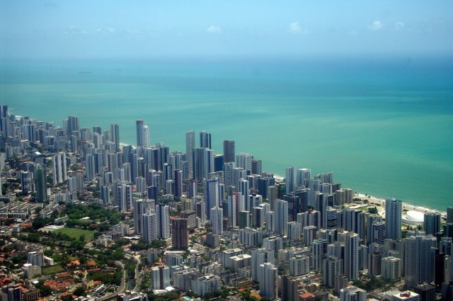 Recife from the air