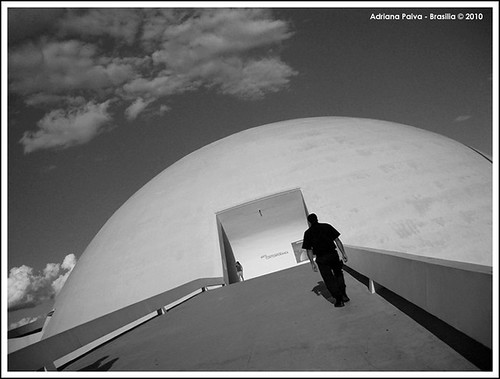 Museu Nacional de Brasília. Foto por Adriana Paiva