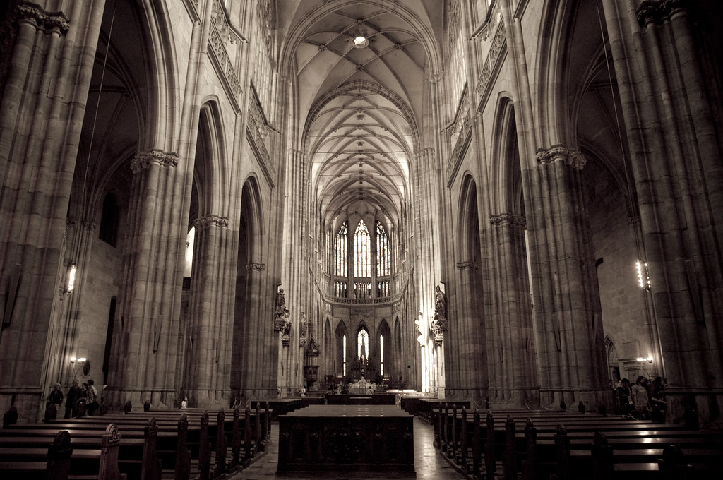 Inside the Majestic Cathedral