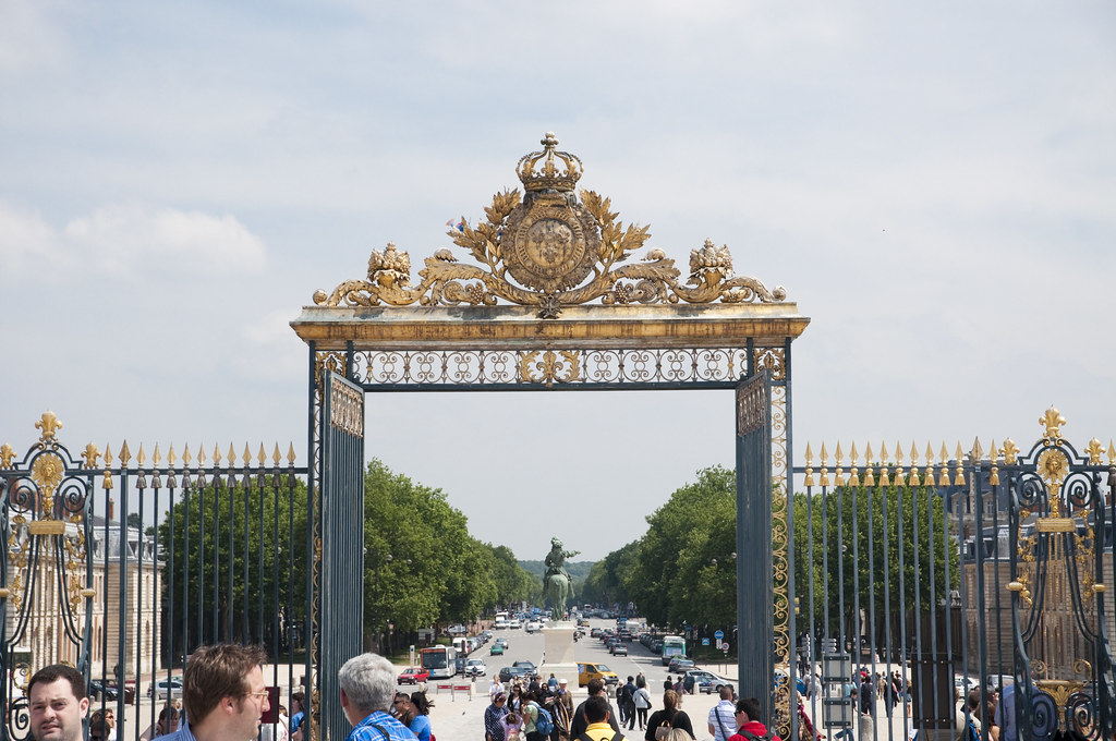 Gate of the Château de Versailles