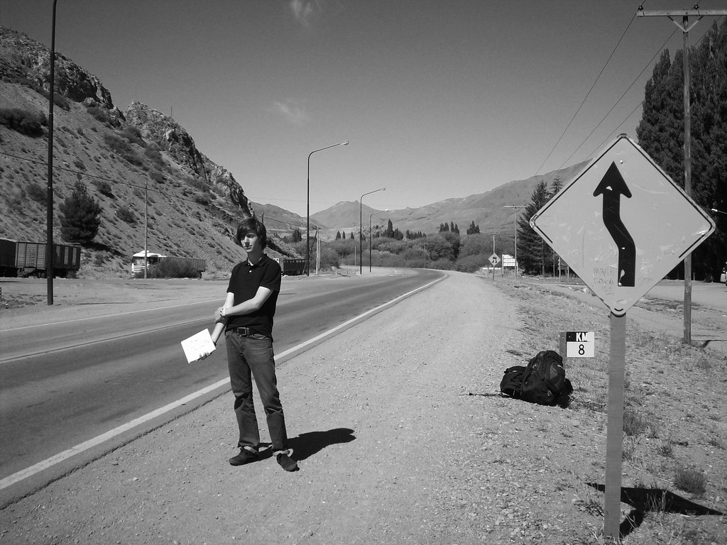 Hitch-hiking in Patagonia, Argentina - by Michael Watson