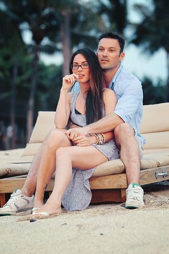 Megan Fox & Brian Austin Green by iamzavtra