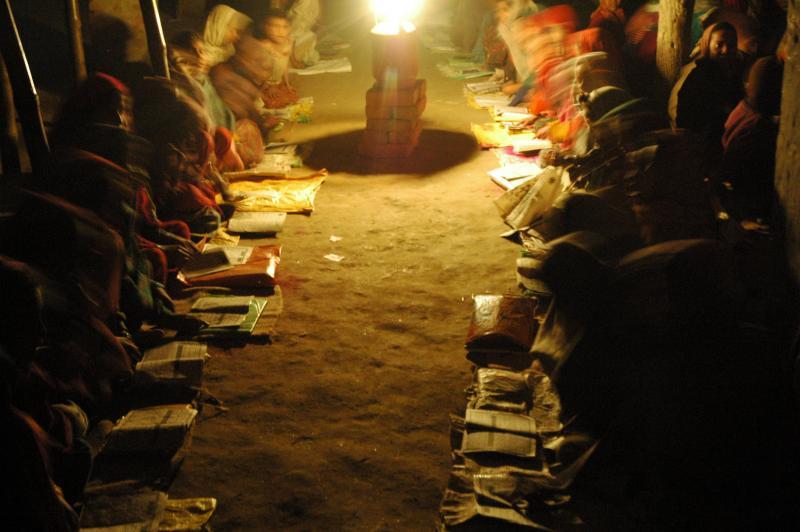 Still, vast sections of society is yet to get basics. Madarasa, Motihari, Bihar