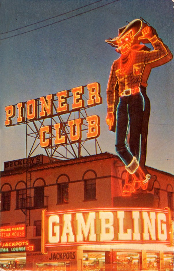 Vegas Vic at the Pioneer Club - Las Vegas, Nevada U.S.A. - date unknown
