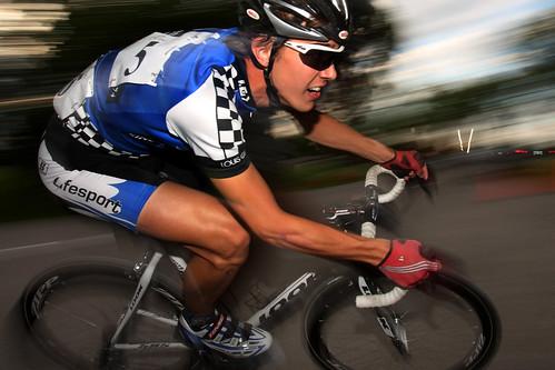 Assiniboine Park Bike Racing