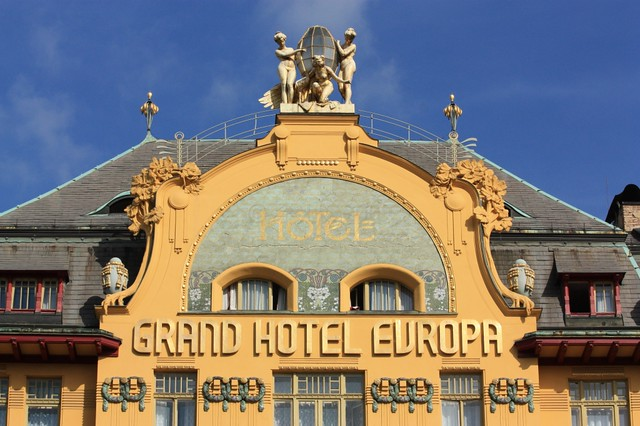 Grand Hotel Europa, Vaclavske namesti, Wenceslas Square, Praha