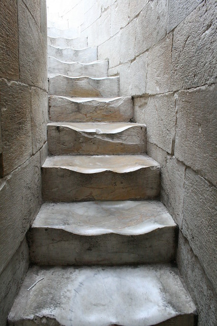 Steps to the top -