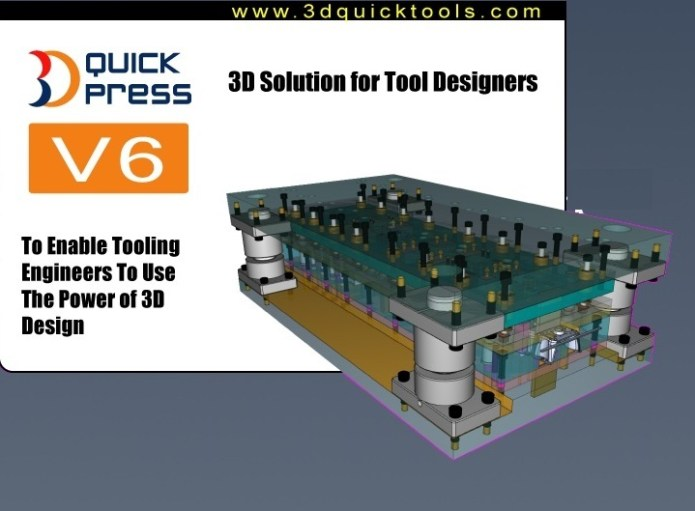 3DQuickPress v6.0.0 for SolidWorks 2011-2016 x64 full license