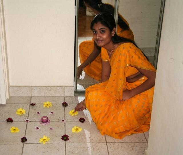 Best Reallife Yellow Saree