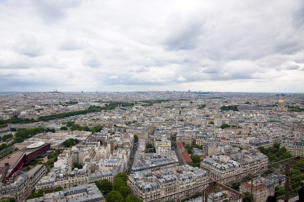 View towards the Louvre