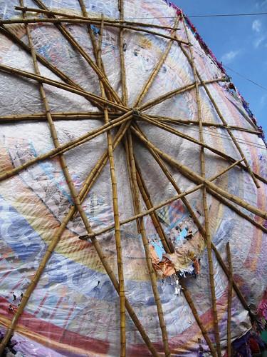 Bamboo kite, Guatemala