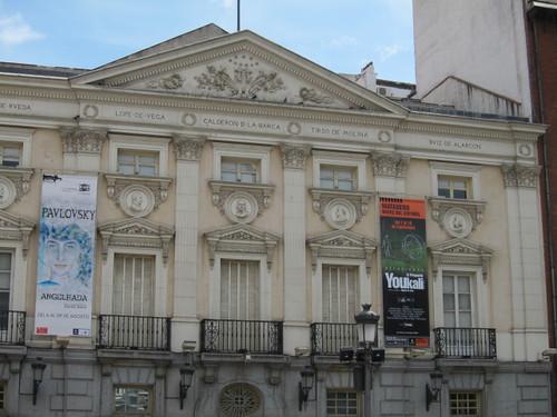 Teatro Español, Plaza de Santa Ana. Madrid