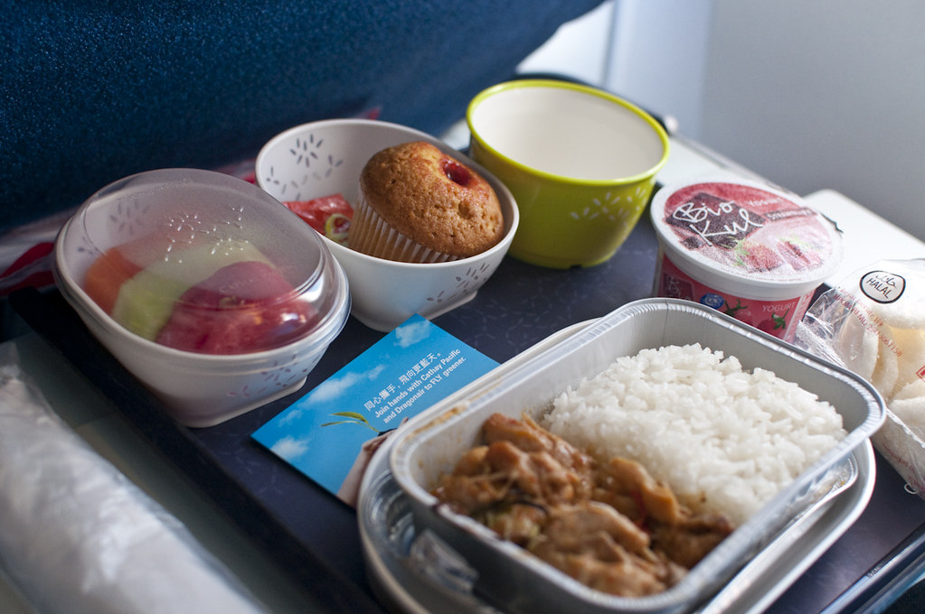 Economy Class Meal - 1