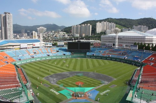 Sajik Baseball Stadium - Busan, South Korea