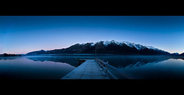 Glenorchy Jetty, South… von Dan Wade