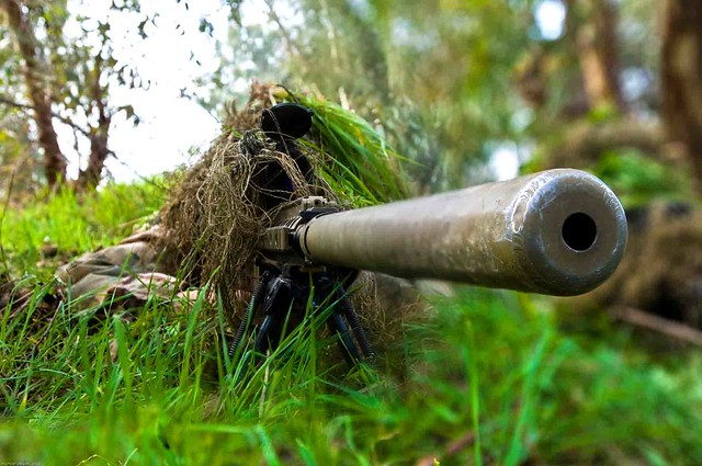 DARPA zaps snipers' brains to induce flow, cut down training time