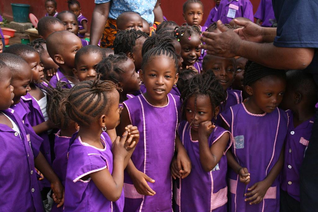 C4C working in Sierra Leone