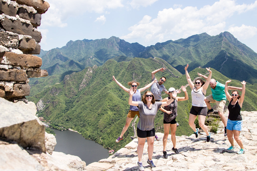 Getting wild on the Great Wall