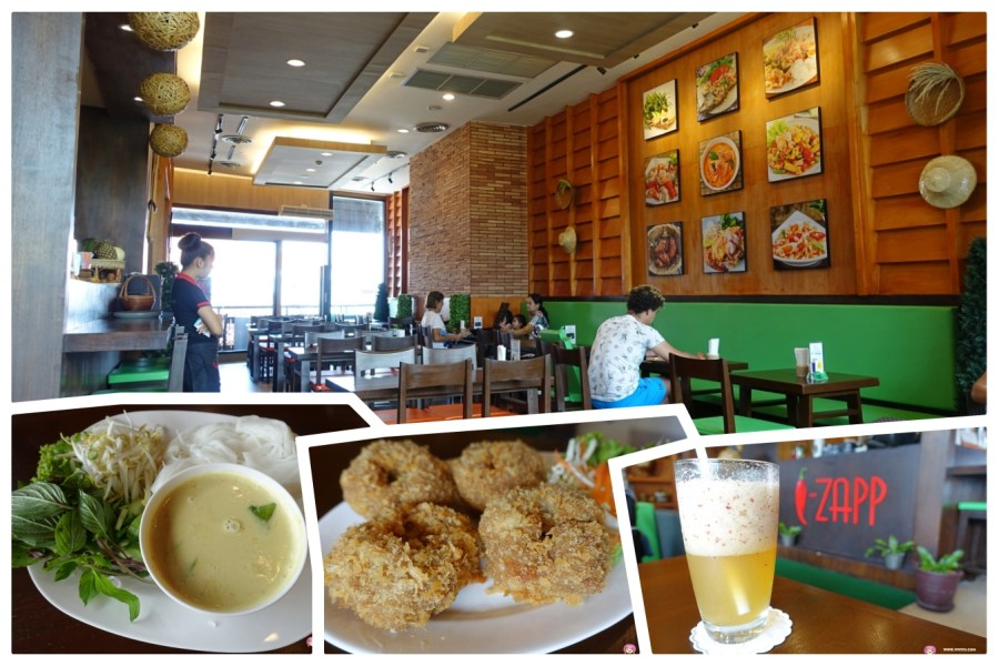 [蘇梅島.美食]I-Zapp Samui~蘇梅島Shopping Mall裡的道地的泰國菜.用餐環境舒服是個適合休息用餐的地方 @VIVIYU小世界