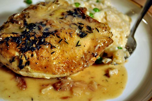 Chicken with Forty Cloves of Garlic