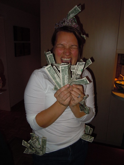Tricia's big winnings