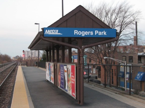 Rogers Park Metra Station