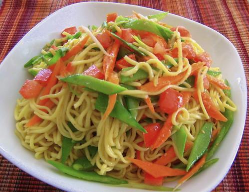 Sesame Ginger Noodles