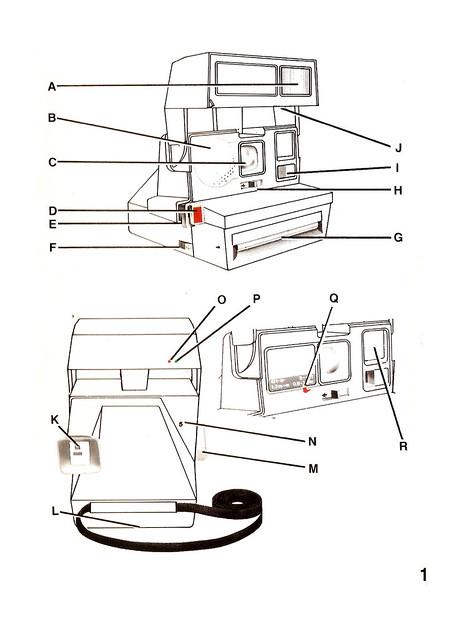 instrucciones Polaroid 600