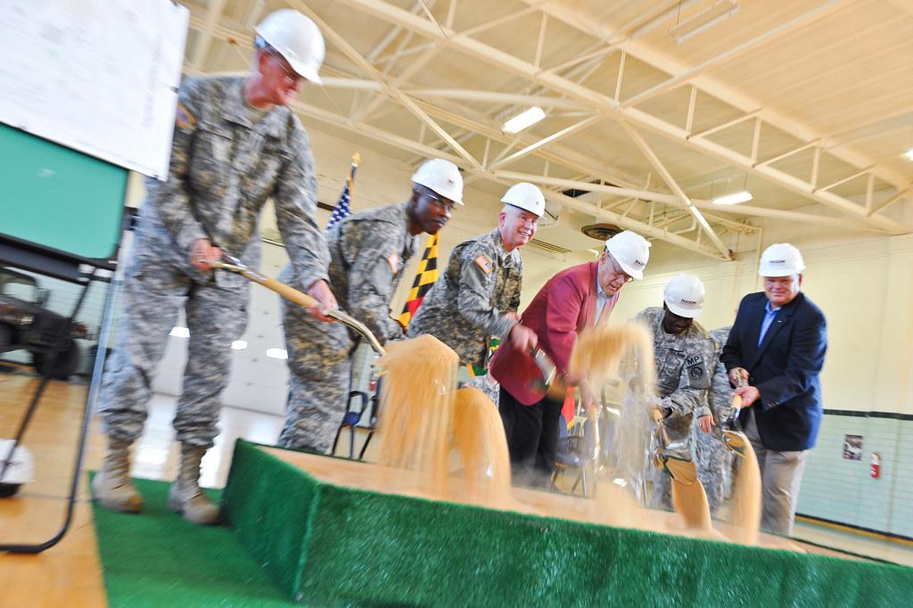 CSM Blair Lee Crockett Readiness Center in Salisbury