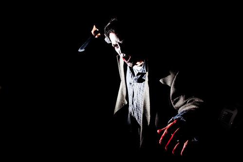 Shadowy zombie
