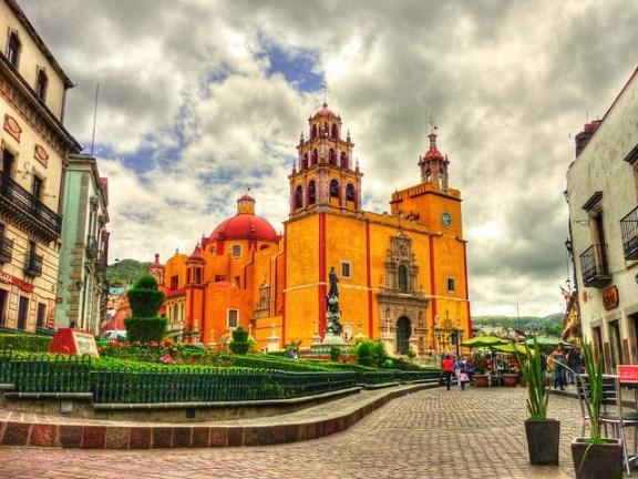 Basílica Nuestra Señora Guanajuato, México, la mochila de mama, blog de viajes