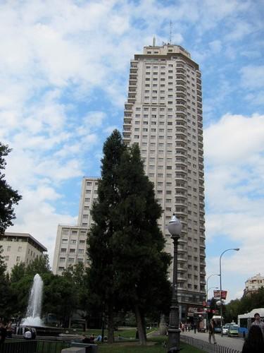 Plaza de España, Torre de Madrid. Madrid