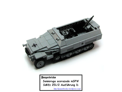 SdKfz 251/2 de Panzerbricks