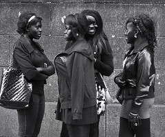 fashion girls (streets of Dublin)
