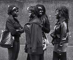 fashion girls (streets of Dublin)