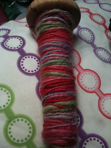 On my spindle by curlygirl75