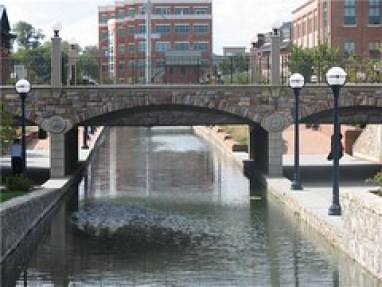 The Community Bridge in Downtown Frederick